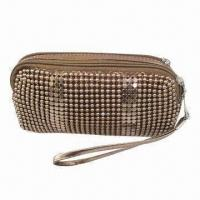 Buy cheap Sequins Clutch Bag, Made of Aluminum, with Hand Strap from wholesalers