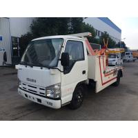 Buy cheap 3t Breakdown Wrecker Flatbed Recovery Truck , Light Duty 98hp Vehicle Engine Cars Tow Truck from wholesalers