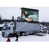 OEM / ODM Accepted Truck Mobile LED Display Easy Installation 1/4 Scan