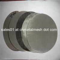 Round cut stainless steel wire mesh filter disc circles - stainless ...