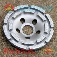 Buy cheap Double Row Diamond Grinding Cup Wheel for Concrete (COPD) from wholesalers