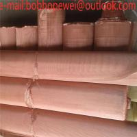Buy cheap Decorative Brass Copper Wire Mesh /200 Mesh red Copper / Brass / Phosphor Bronze Wire Mesh /brass copper mesh screen from wholesalers