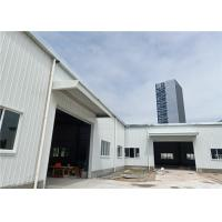 Buy cheap One Story Steel Warehouse Construction For Prefabricated Hall Building product