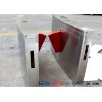 3 Lanes Flap Automatic Swing Barrier Gate Card Collector For Biometric Access Control