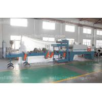 Buy cheap Beverage Plant PE Film Shrink Wrap Machines With Automatic Cutting and Shrink Tunnel from wholesalers