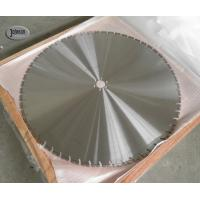 Buy cheap 4.8mm / 5mm Thick Concrete Wall Saw Blades 1000mm Laser Welded Diamond Saw product