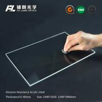 Buy cheap Robot partitions with abrasion resistant acrylic sheet for aluminum extrusion from wholesalers