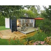Buy cheap prefab shipping container house easily installed and transported container home from wholesalers