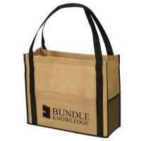 Buy cheap Customized Reusable Non Woven Handbag Laminated Bags Good Breathability product
