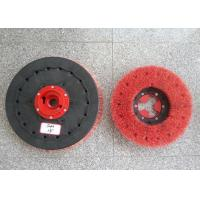 "Wholesale Rotary Floor Cleaning Machine Brushes , 19""  Size Disc Diamond Abrasive Brush from china suppliers"