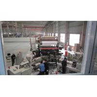 China Flexible PVC Floor Tile Production Line Different Type Embossing Designed Fully Automatic on sale
