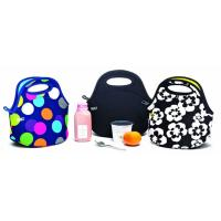 Wholesale Cooler Lunch Box Bag For Adults Neoprene Lunch Tote Bags. Size is 30cm*30cm*16cm. SBR material. from china suppliers