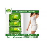 China Antioxidant Instant Slimming Coffee Green Coffee Bean Extract For Weight Loss on sale