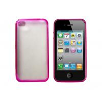 Buy cheap Different Colors Clear Hard IPhone Protective Case With Soft TPU Bumper For IPhone 4 from wholesalers