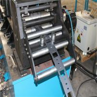 Buy cheap Cable Tray Ladder Trunking Steel Galvanized Roll Forming Making Machine from wholesalers