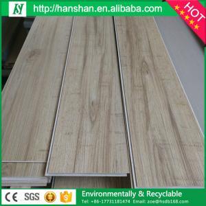plastic wood floor interlocking wood spc/pvc flooring construction steel plank Manufactures