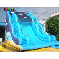 Buy cheap Wave slide Inflatable Gaint water slide Inflatable slide Game from wholesalers