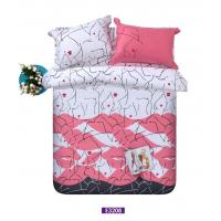 Buy cheap Winter Soft Sateen Bedding Sets Girls With Bright Color For Home from wholesalers