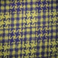Wholesale Brushed Poly/Wool Blended Swallow Gird Fabric for Coat and Dress, with Soft Texture from china suppliers