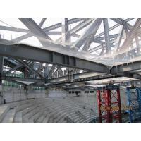 Buy cheap GYM Center Building Steel Frame I Section Square/ Round Pipe Environment Friendly from wholesalers