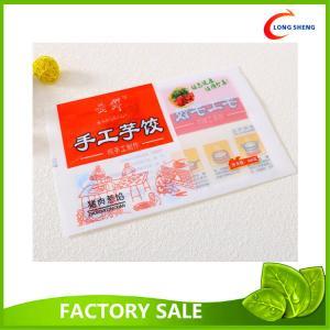 Flat Back Seal Printed Plastic Food Bags For Frozen Food Dumplings Packaging Manufactures
