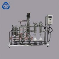 Buy cheap Automated hemp CBD Oil Machine One Stage Stainless Steel Molecular Distillation for Industrial Production from wholesalers