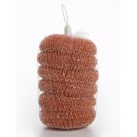 Buy cheap PP Material Metal Scrub Pad , Antibacterial Copperized Stainless Steel Scrubber from wholesalers