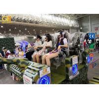 Buy cheap Digital Movie Tank 9D VR Cinema Theater Six Motion Seats 3.1 x 2.2 x 1.7m product