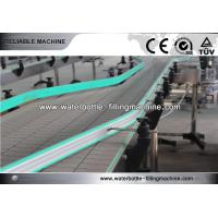 Buy cheap Carbonated Drink Plastic Auxiliary Equipment Bottle Conveyor System Speed Adjustable from wholesalers