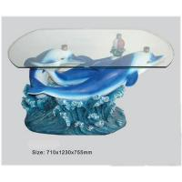 Buy cheap Dolphin shape decorative tea table from wholesalers