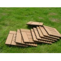 Buy cheap Waterproof Solid WPC Decking / Hollow WPC Decking / WPC Wood Board from wholesalers
