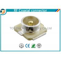 Buy cheap U.FL Connector Plug RF Coaxial Connector 50 Ohm Surface Mount from wholesalers