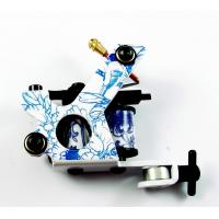 Buy cheap New Blue and White Porcelain Tattoo Machine from wholesalers