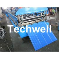 TW-18-228.5-914 Roof and Wall Cladding Roll Forming Machine With Hydralic Cutting and PLC Control