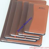 Buy cheap Personalized custom cheap custom notebook PU leather notebook School notebook from wholesalers