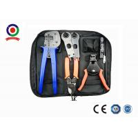 Buy cheap Black Bag MC4 Crimping Tool Kit Solar Photoroltaic Connector For Solar System from wholesalers