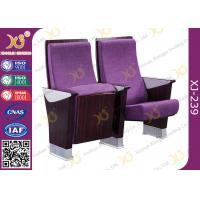 Buy cheap Commercial Furniture Multiplex Church Auditorium Seating Polywood + Foam Inner Panel from wholesalers