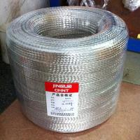 tinnded copper braided wire flat china factory Manufactures