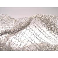Buy cheap Noise Reduction Knitted Stainless Steel Filter Mesh Crochet Weaving For Gas / Liquid from wholesalers