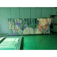 Buy cheap High Quality HD Video Advertising LED Display P3.91 Indoor Glass Transparent LED Screen led video wall led poster screen from wholesalers