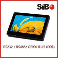 "Quality Wall Mountable 7"" Screen Size Android Touch Panel With POE Temperature Sensor for sale"