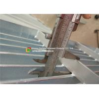 Buy cheap Galvanized Flat Steel Bar Grating Anti - Corrosive Heat Dissipation product