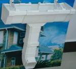 Buy cheap Foam PVC Rain Gutter, Rainspout, for Roof Rain Collection from wholesalers