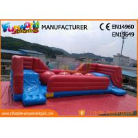 Wholesale Commercial 0.55 MM PVC Tarpaulin Inflatable Obstacle Course With Slide from china suppliers