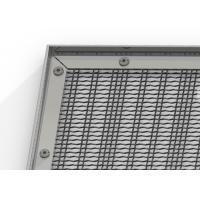 Buy cheap Stainless Steel Decorative Wire Mesh With Aluminum Alloy Frame For Window Screen from wholesalers