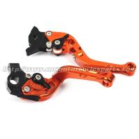 Buy cheap Adjustable Folding Motorcycle Shorty Clutch And Brake Levers CNC Aluminum Parts from wholesalers