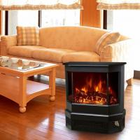 Buy cheap Electric Fireplace Heater 3 Sided Freestanding electric Stove EF330 Log flame effect comfortable warm room heater from wholesalers