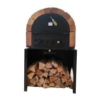 China Commercial Kitchen Wood Fired Pizza Oven With Medium Gas Pizza Oven With  High Quality Baking Equipment Stainless Steel on sale