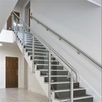 Buy cheap Modern Tempered Glass Baluster Stair Railing from wholesalers