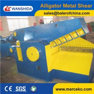 Q43-2000 Scrap Alligator cutter machine to cut metal tubes pipe and scrap bar with PLC semi-automatic operation Manufactures